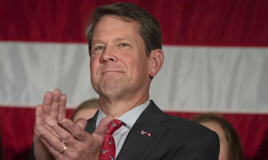 Georgia Secretary of State Brian Kemp, Republican candidate vying for the governorship of Georgia