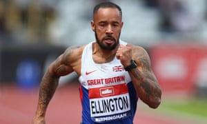 James Ellington said he 'can't believe the progress so far' as he battles to save his athletics career.