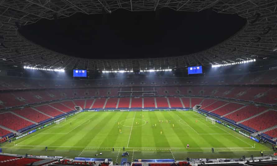 The Puskas Arena in Budapest is the new venue for the Champions League tie between RB Leipzig and Liverpool.