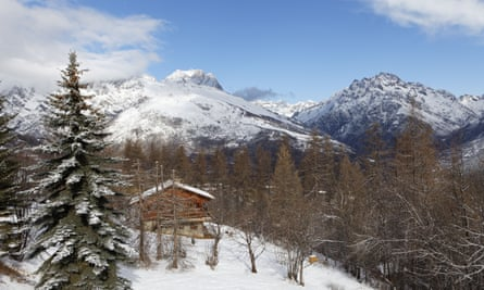 chalet French Alps.