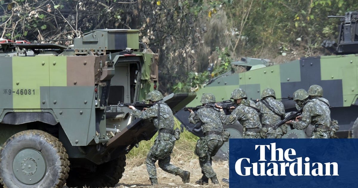Secret group of US military trainers has been in Taiwan for at least a year