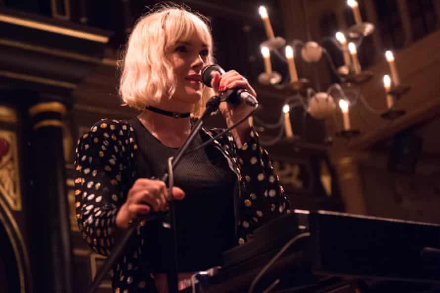 'A woozy synth dreamworld': Gwenno performs at the Sam Wanamaker Playhouse, London.