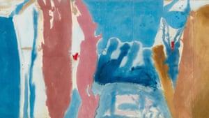 Open Wall, 1953, by Helen Frankenthaler.