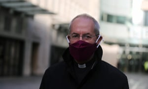 The archbishop of Canterbury, Justin Welby, said: 'Don't feel under compulsion. Do what is sensible