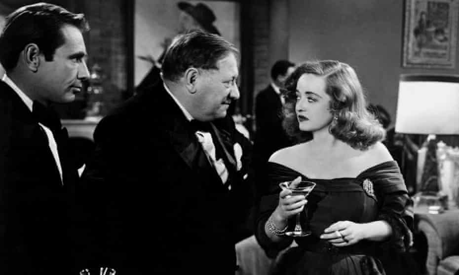 A cracking black comedy … Davis with Gary Merrill and Gregory Ratoff in All About Eve.