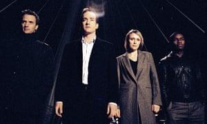 From left: Rupert Penry-Jones, Matthew Macfadyen, Keeley Hawes and David Oyelowo in Spooks.
