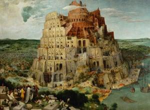 The Tower of Babel (1563) by Pieter Bruegel the Elder.