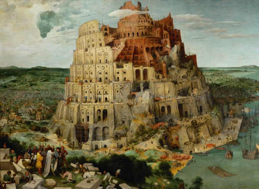 The Tower of Babel, Pieter Bruegel the Elder 1563