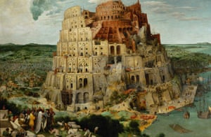 High ambitions ... detail from The Tower of Babel byPieter Bruegel the Elder (1563).