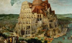 The Tower of Babel by Pieter Bruegel the Elder.