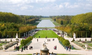 Fountain and Gardens at the Palace of Versailles