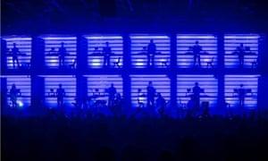 New Order + Liam Gillick at the Old Granada Studios.