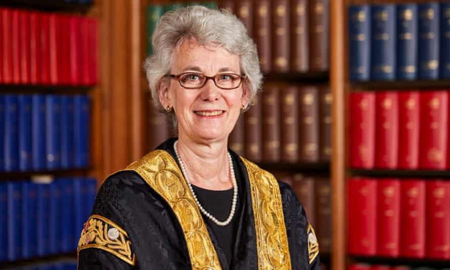Supreme court justice Lady Black