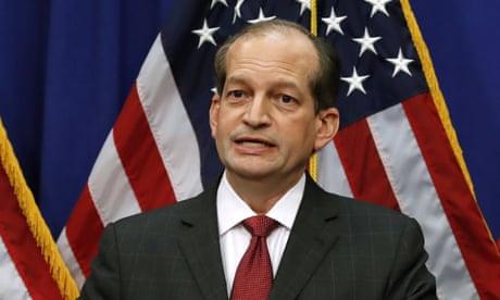 Labor secretary Acosta defends role in Epstein's 'sweetheart' plea deal – as it happened