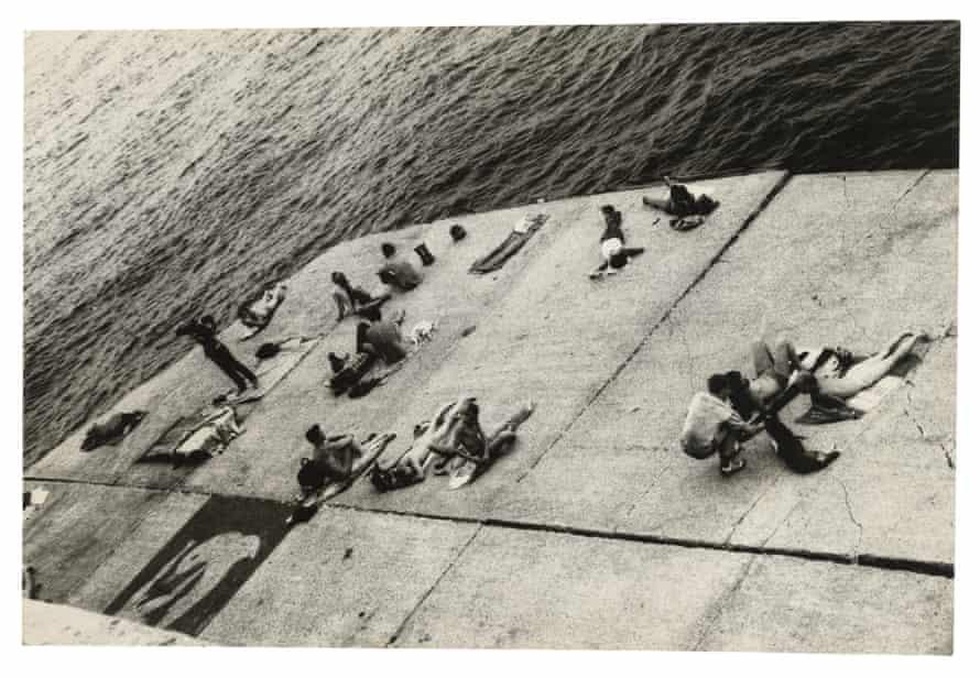 The Piers (sunbathing platform with Tava mural)