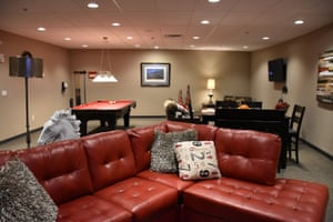 A common room in the Survival Condo.