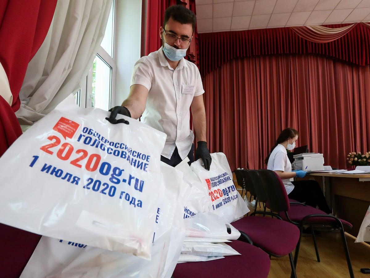 It looks like a gameshow': Russia's pseudo-vote on Putin's term ...