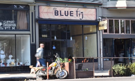 The Blue Fig restaurant closed last month. 'The type of folks who you have gotten to know over the years – students, artists, cooks – can no longer afford to live in San Francisco.'