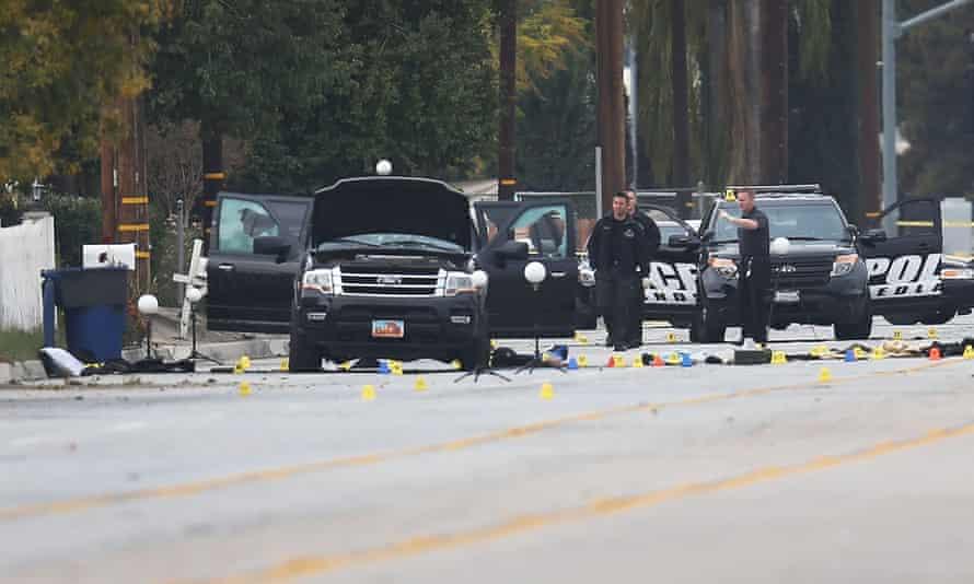 San Bernardino crime scene