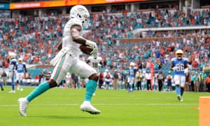 The incident occurred during the Dolphins' loss to the Chargers