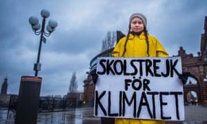 Swedish teenager Greta Thunberg