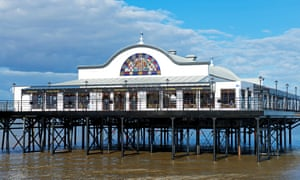 Cleethorpes' revamped structure has been voted pier of the year 2016