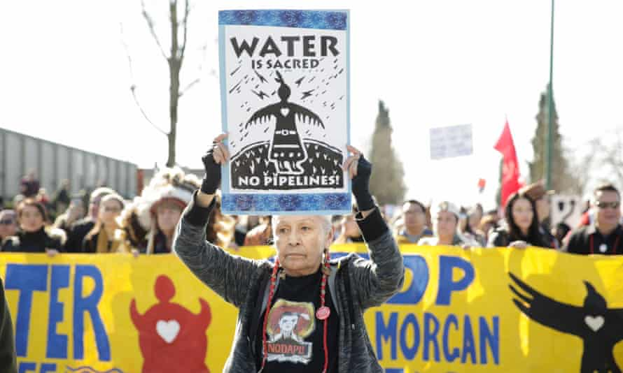 'This pipeline is a disaster, and its harms strike at the heart of our homelands.'