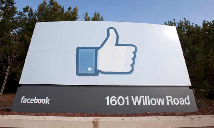 Facebook office sign