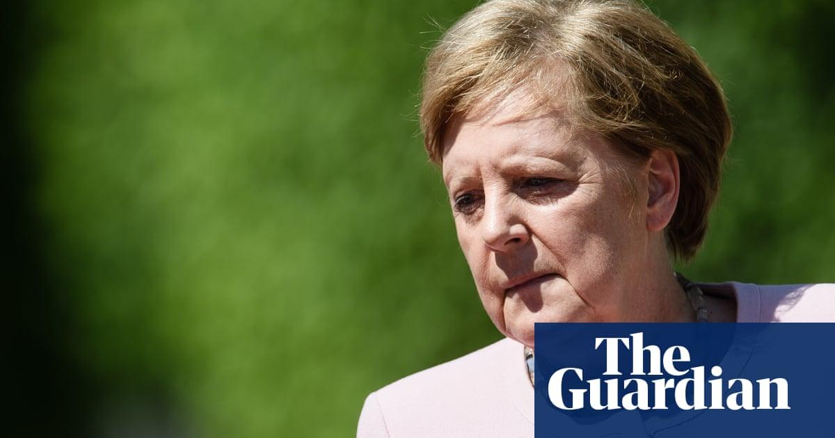 Angela Merkel blames dehydration for shakes