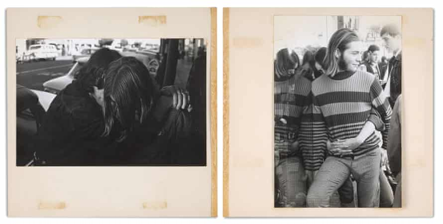 A spread from the photobook A Time of Youth