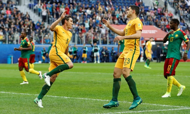 Cameroon 1-1 Australia: Confederations Cup – as it happened