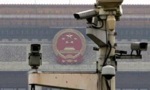 Surveillance cameras in Beijing