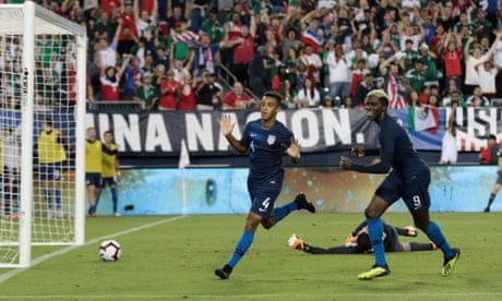 Tyler Adams' maiden goal lifts USA to first win over Mexico in three years