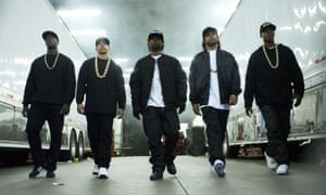 The line up … Straight Outta Compton.