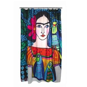Frida shower curtain, £50, wagreen.co.uk