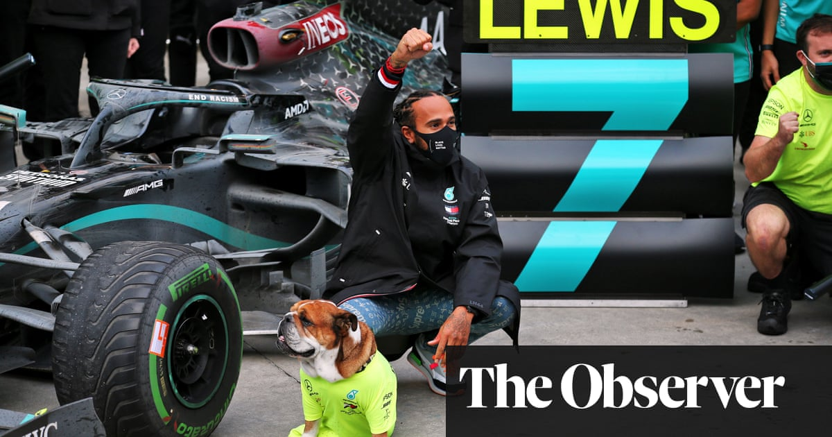 Lewis Hamilton favourite as BBC aims to hit right tone with musical Spoty   Paul MacInnes