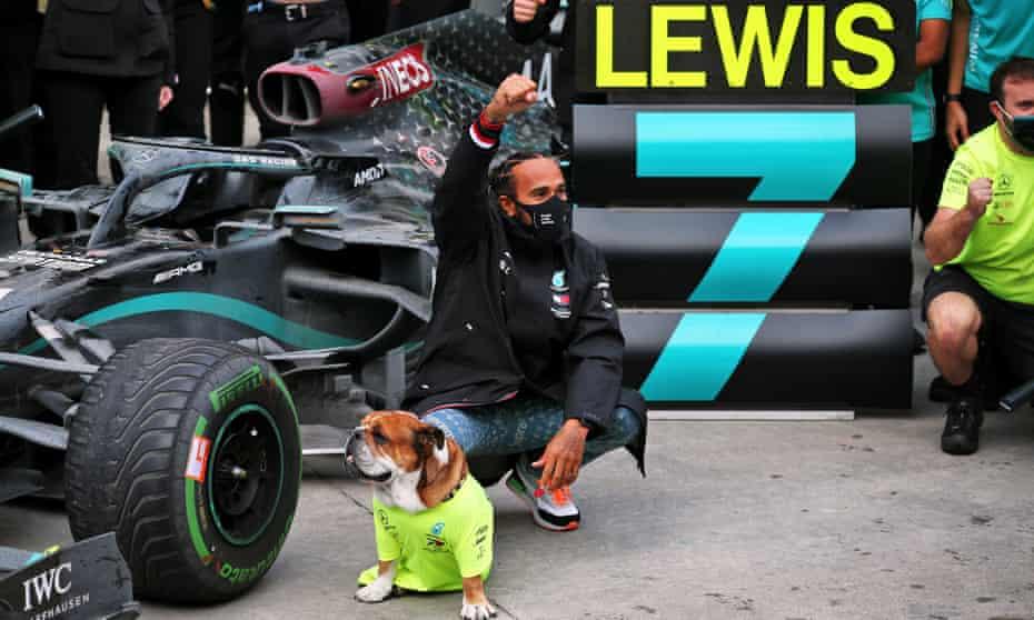 Lewis Hamilton is favourite to win this year's award.
