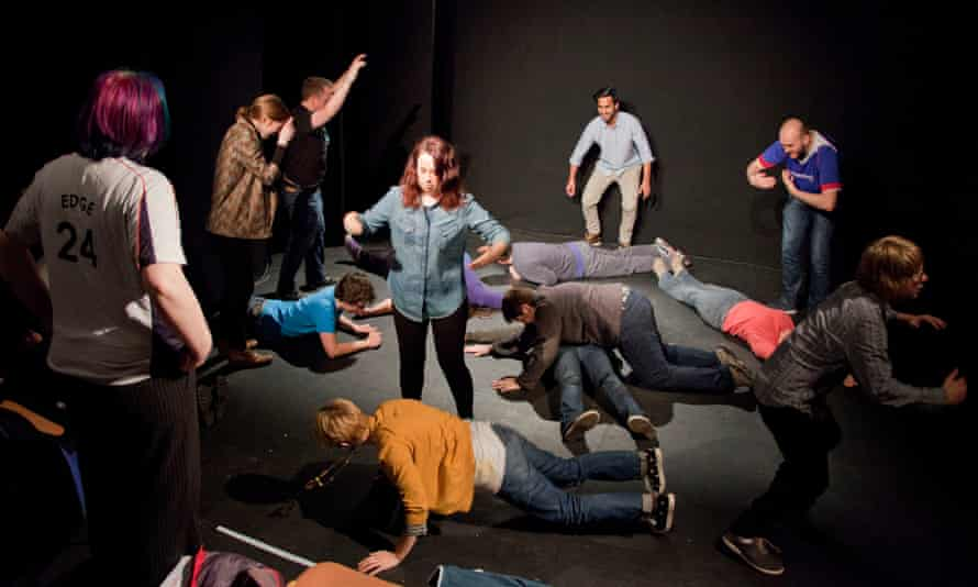A ComedySportz UK improv workshop to help with anxiety and social fears.