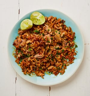Yotam Ottolenghi's spicy tuna and herb fried rice.