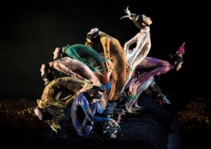 Dancers of China's Peacock Contemporary Dance Company perform Yang Liping's Rite of Spring.