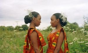 Indentical twins Zada (left) and Zuri Eshun