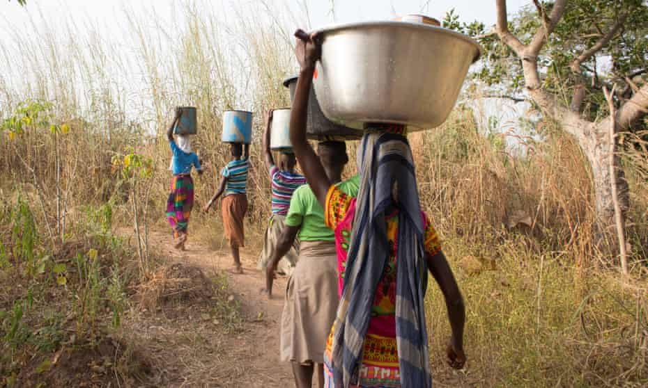 Women at Kukuo witch camp, one of six in northern Ghana.