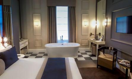 Bedroom at Edgbaston Hotel, Birmingham