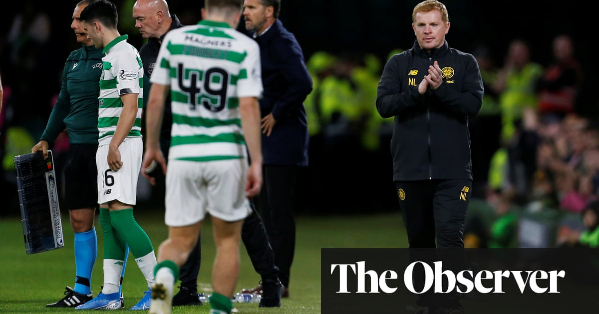 Old Firm derby offers Neil Lennon chance to turn page on Cluj backlash