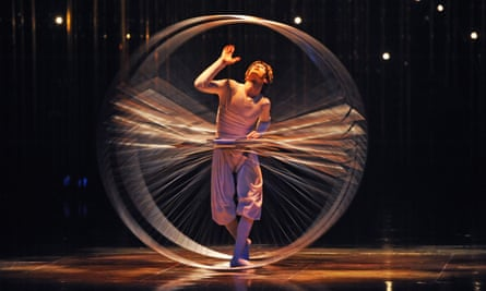 A scene from Varekai by Cirque Du Soleil