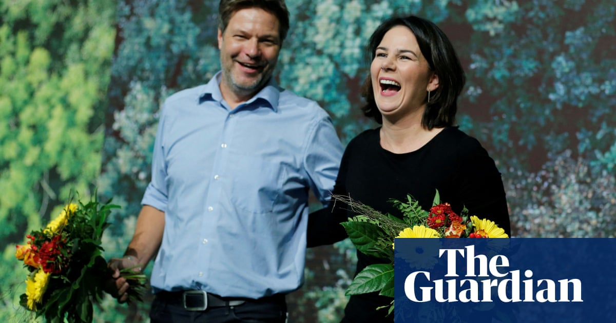 Germany's surging Greens step up election race to succeed Merkel