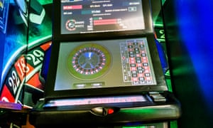 A fixed-odds betting terminal (FOBT)