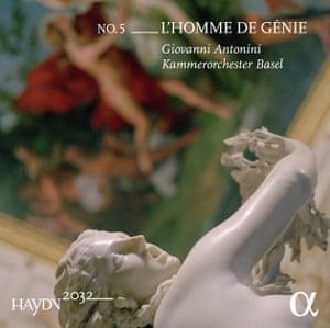 Haydn 2032, Vol. 5- L'homme de génie - CD cover