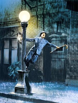 Gene Kelly in Singin' in the Rain, 1952.