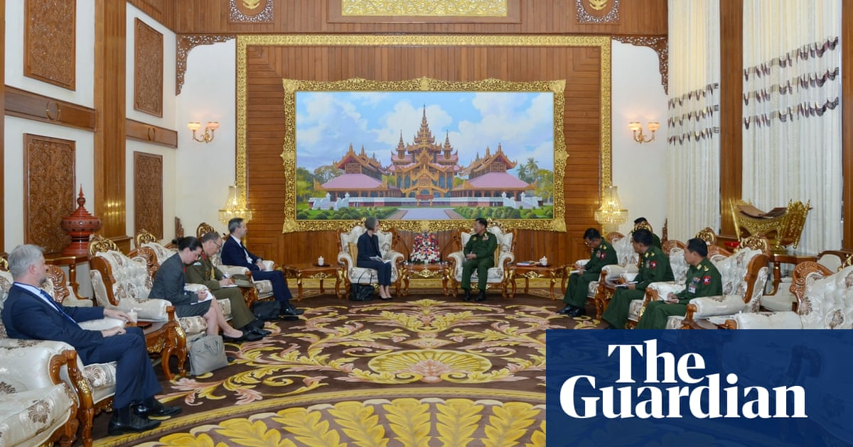 Australian ambassador meets with Myanmar military chief accused of Rohingya genocide